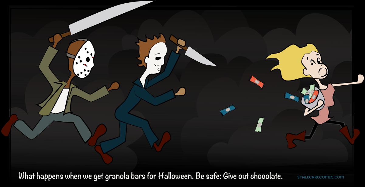 Frightening Halloween Treats