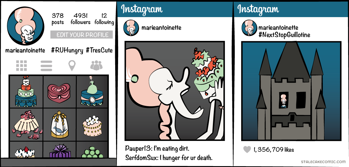 Marie Antoinette – Let Me Eat Cake!